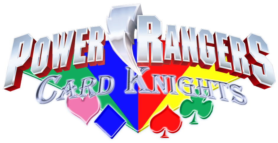 Power rangers card by. Knights clipart charger
