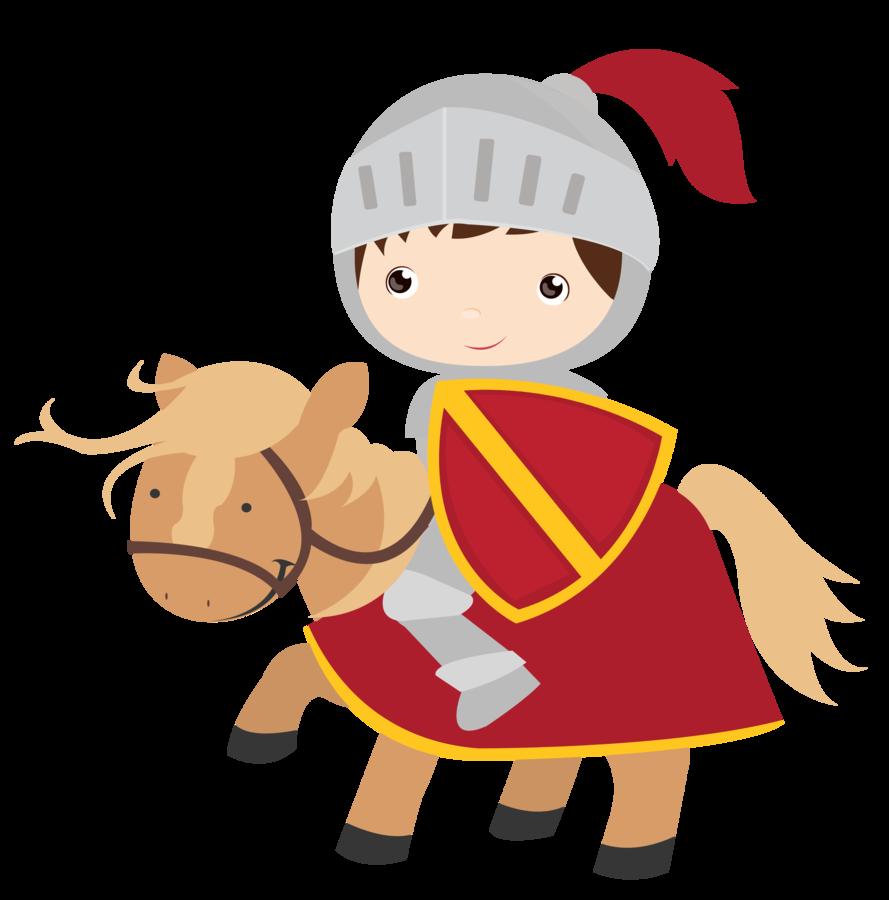 Knight clipart childrens. Princesas e cavaleiros minus
