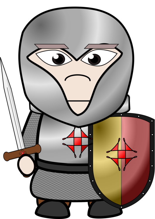 Human behavior vision care. Knights clipart chivalry