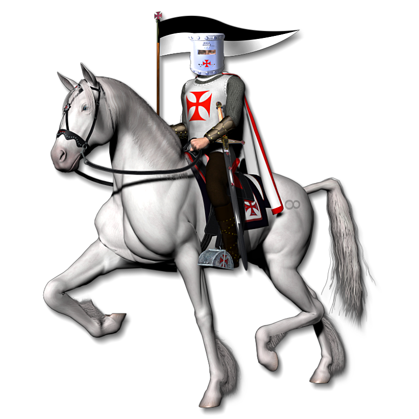 Knights clipart clear. Heaven light the templars
