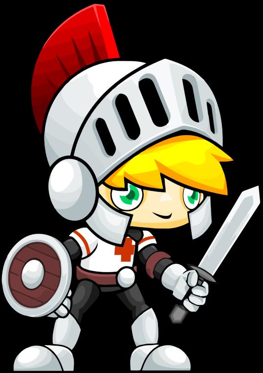 knight clipart cute