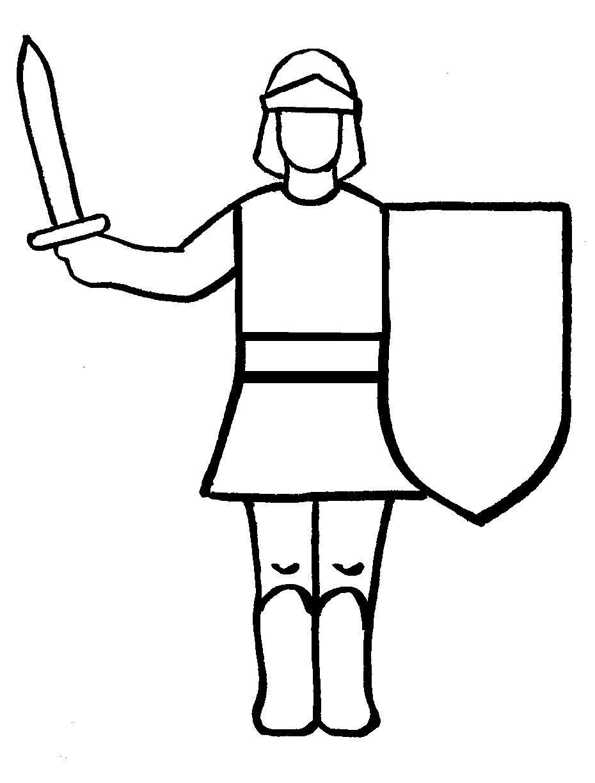 Knight cartoon drawing free. Knights clipart easy