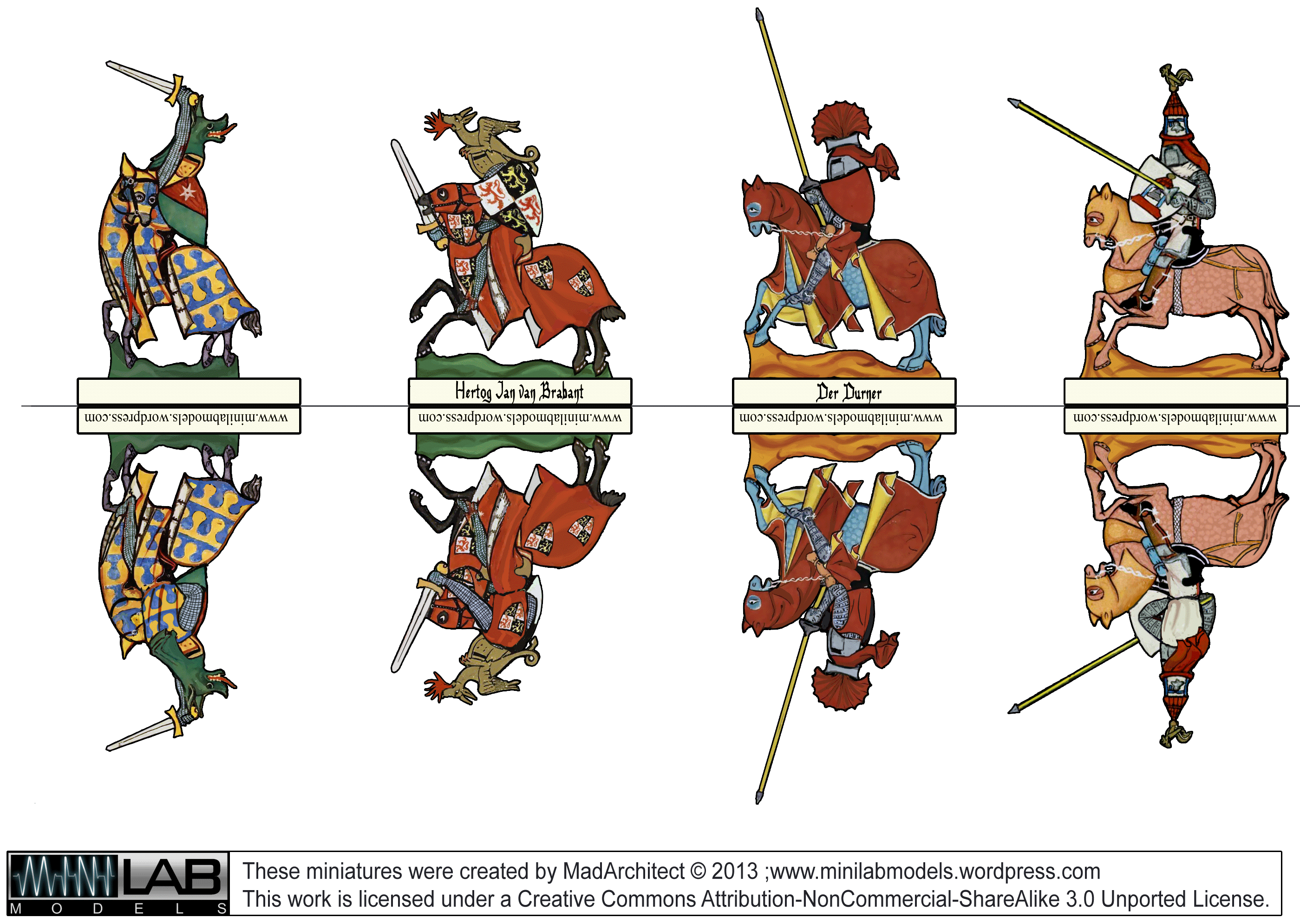 Knight clipart europe medieval.  d miniatures minilab