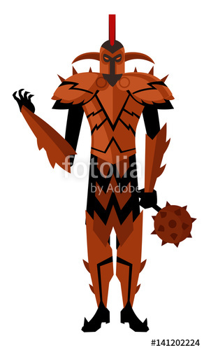 Knight clipart evil knight. Red stock image and