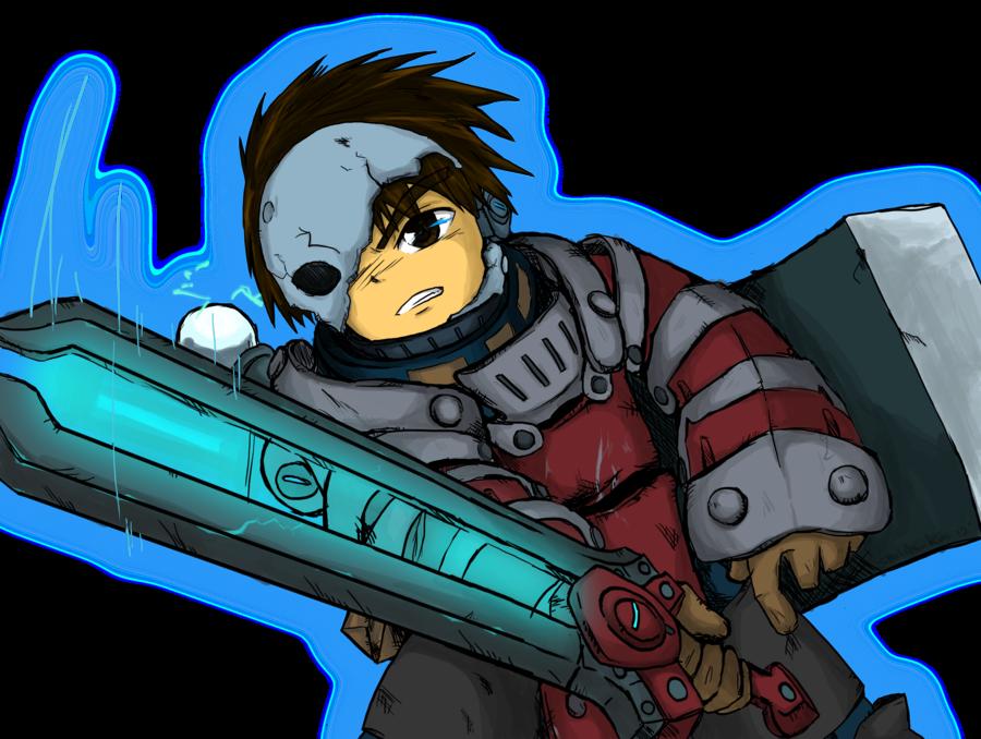 Knight clipart face knight. Spiral knights