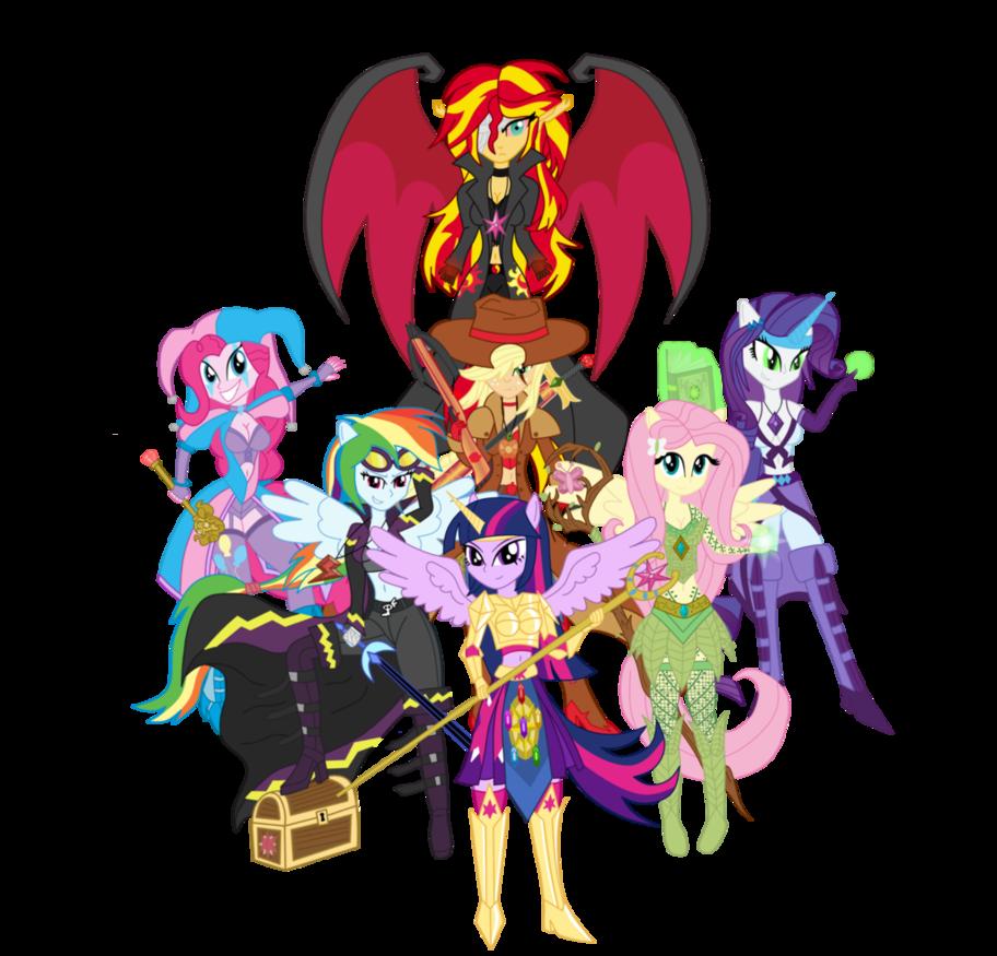 The knights of harmony. Knight clipart girl knight