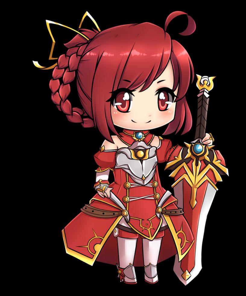 Knight clipart girl knight. Elesis saber elsword pinterest