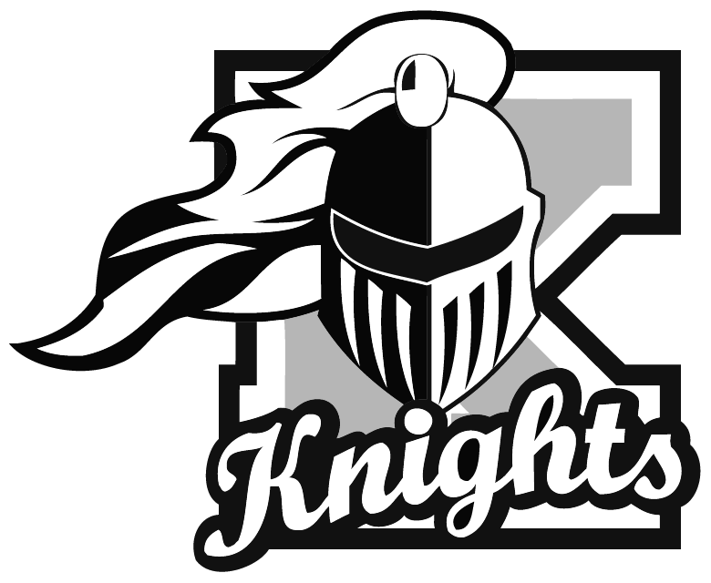 Kaneland team home knights. Knight clipart girl knight