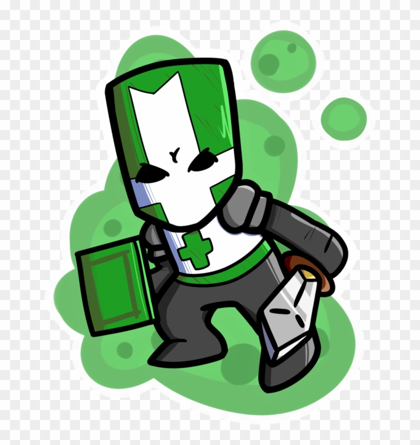 Knight clipart green knight. Castle crashers png download