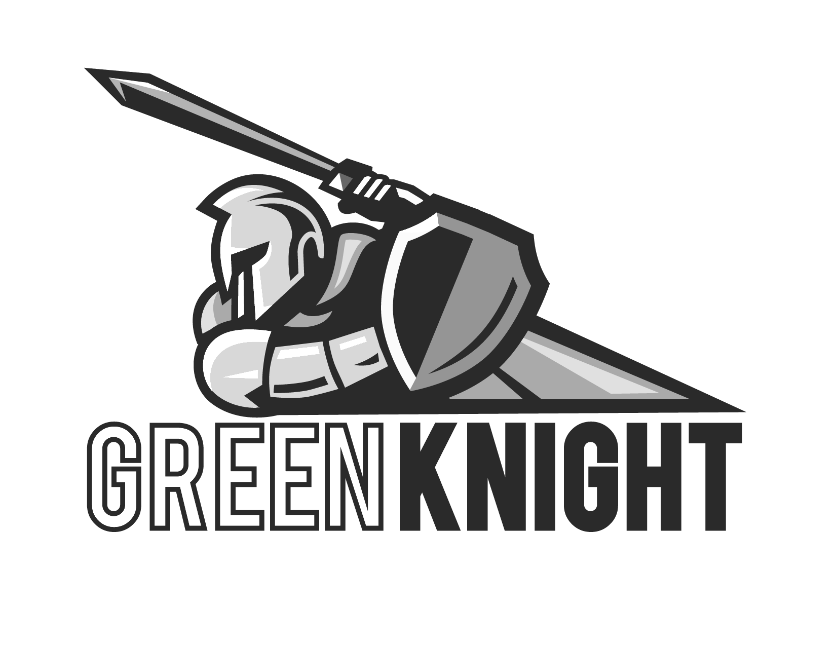 Knight clipart green knight. Our company www greenknight