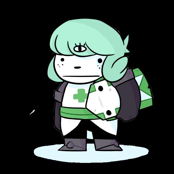 Knight clipart green knight. Seafoam by soduhparty on