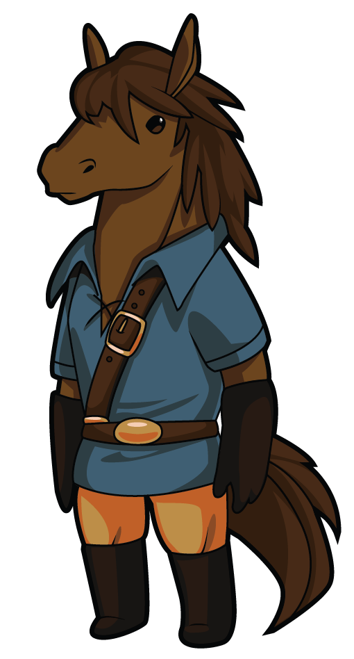 Image adventurer art png. Knight clipart horse animation