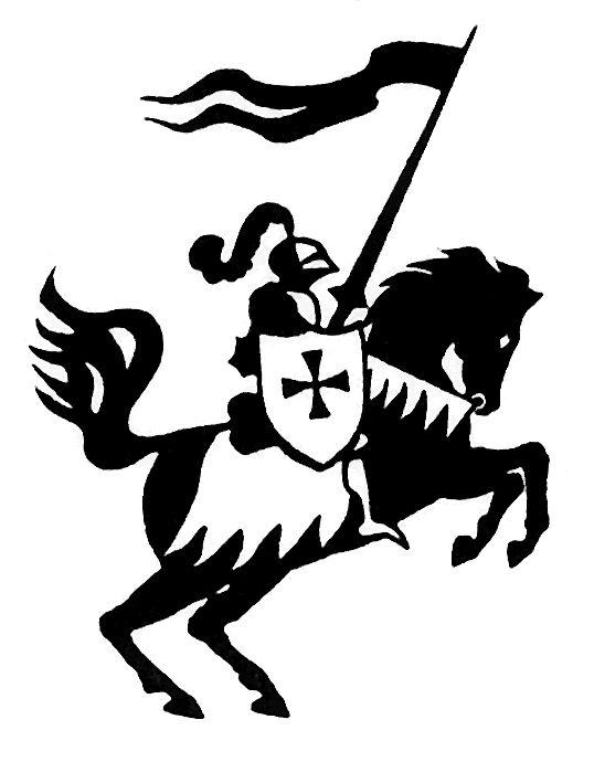 Pin by seyward conner. Knight clipart horse clip art