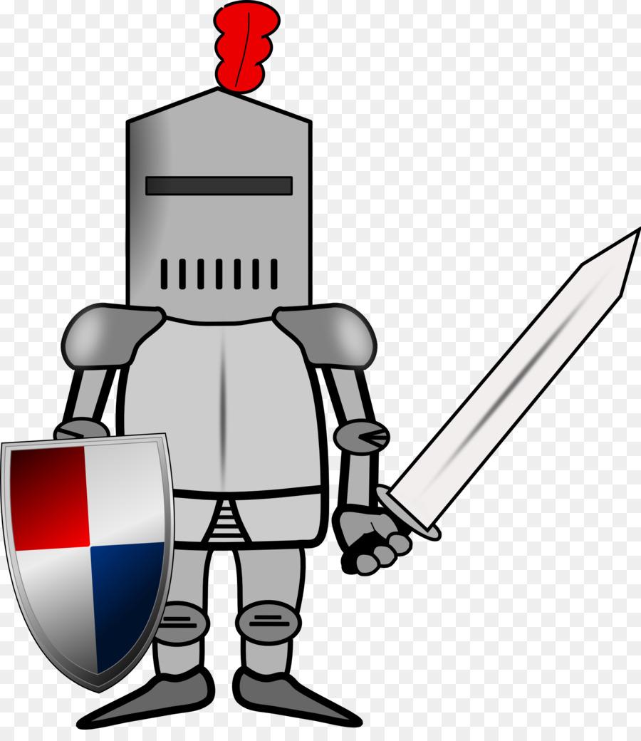 Knight clipart illustration. Cartoon technology