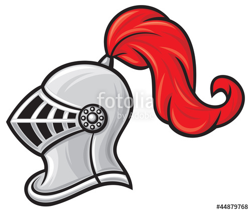 Helmet stock image and. Knight clipart knight hat