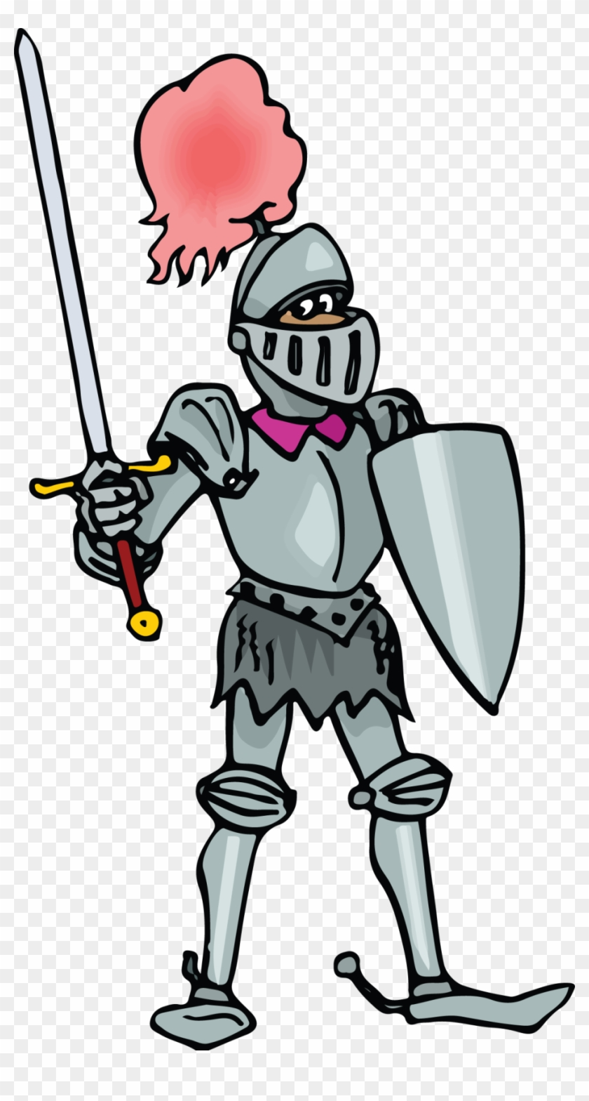Knights clipart armour. Knight middle ages clip