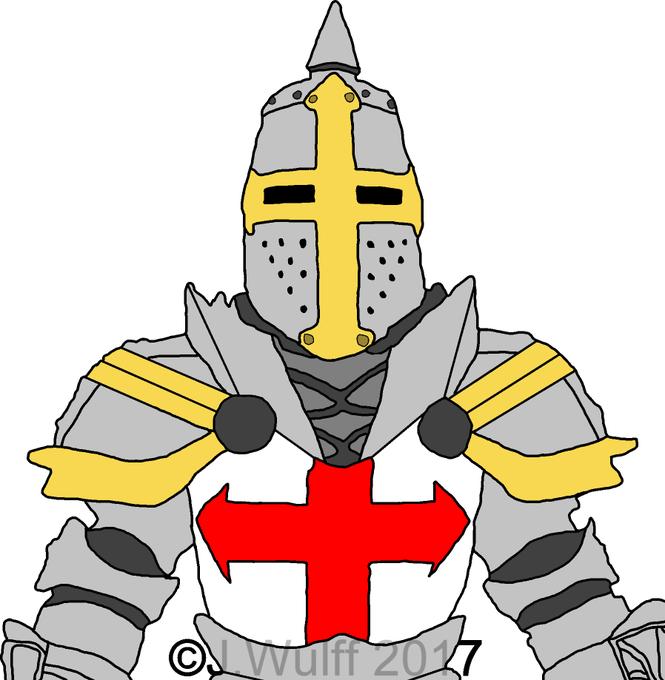 Knight Clipart Knights Templar  Knight Knights Templar