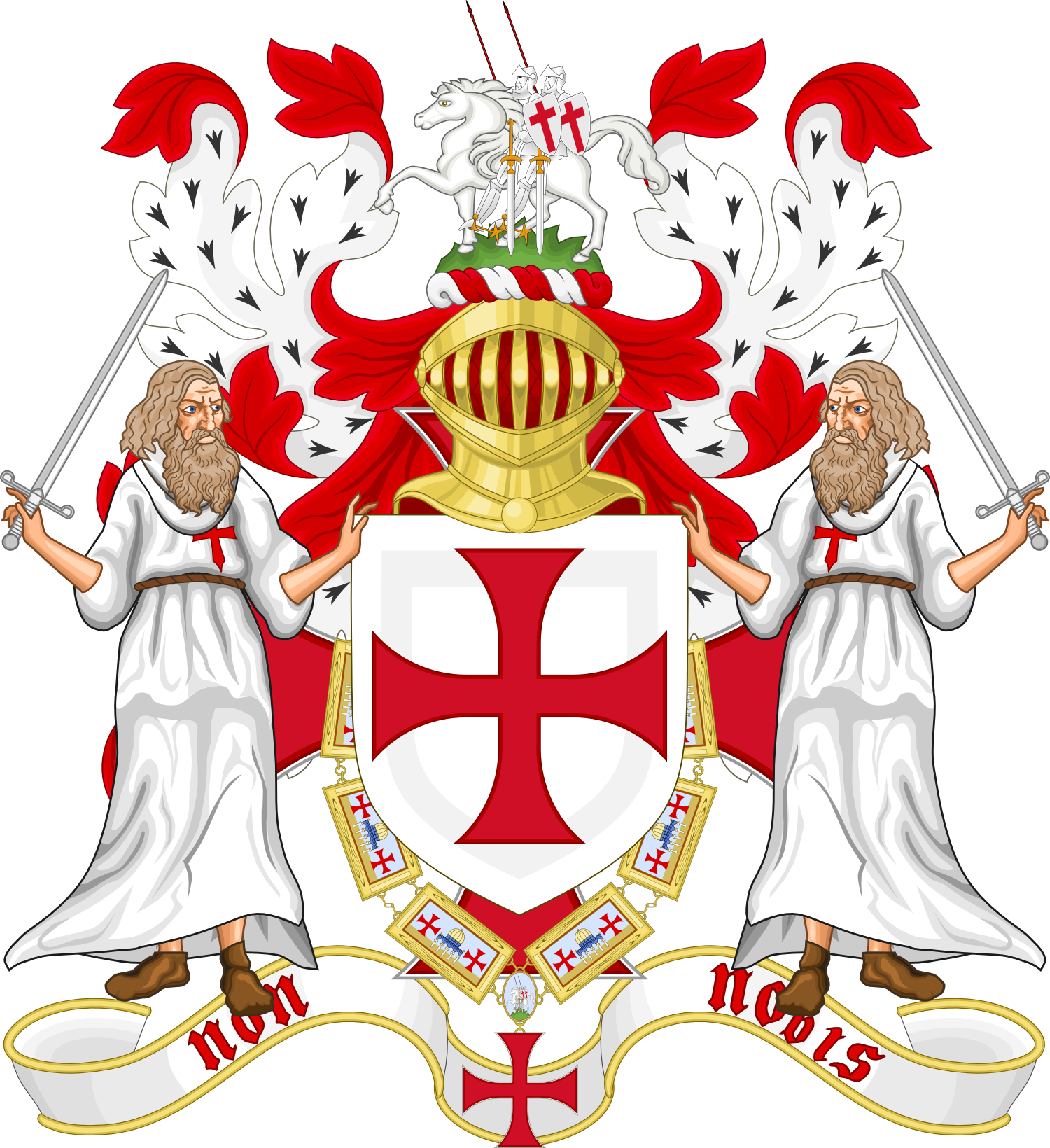 Knight clipart knights templar. Poor of christ by