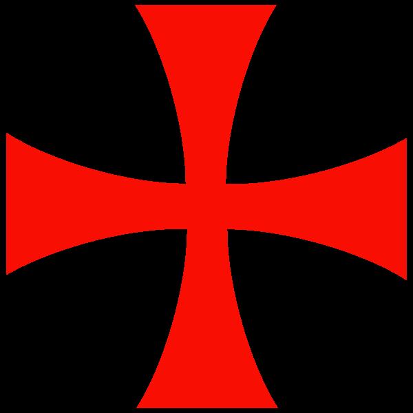 File cross svg templars. Knight clipart knights templar