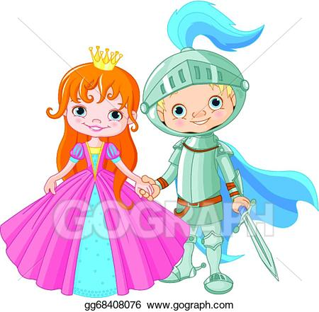 Vector stock medieval and. Knight clipart lady knight