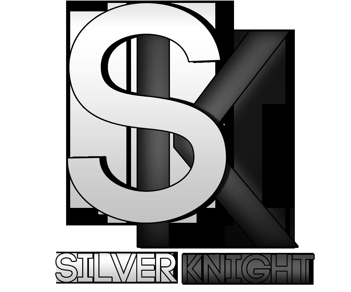 Knights clipart silver knight. Bold modern business logo
