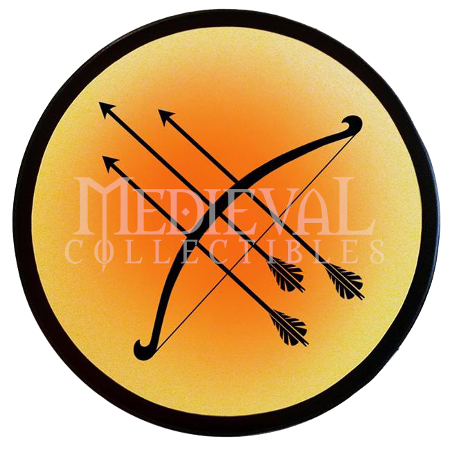 Wooden archers shield ws. Knights clipart medieval archer