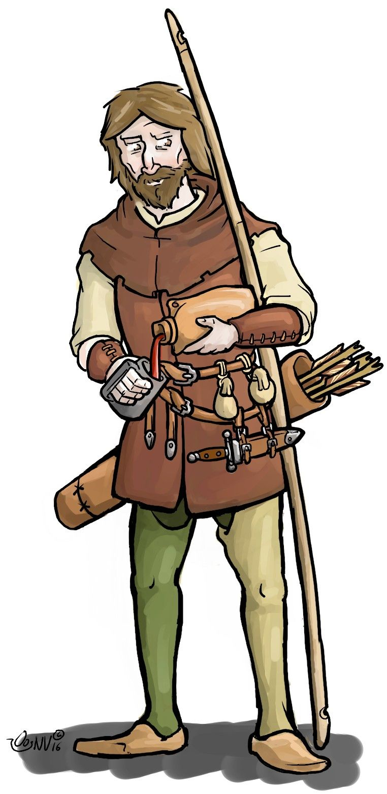 Knight clipart medieval archer. Pin by gavin pierson
