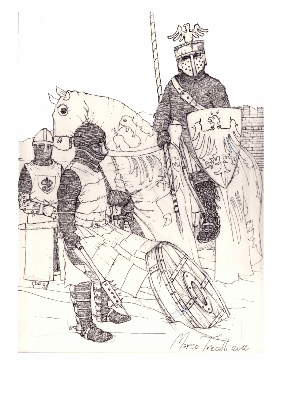 Knights clipart medieval army. Knight illustration free png