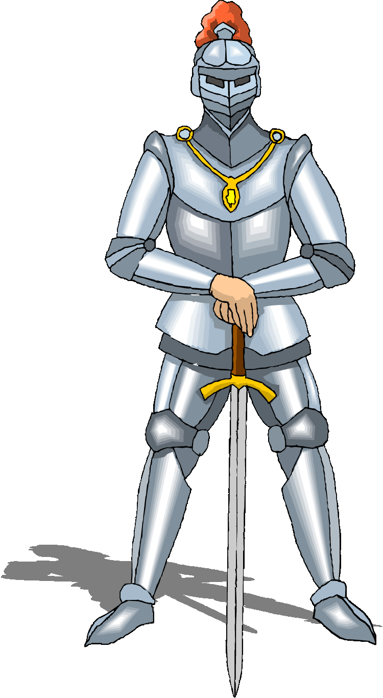 Middle on emaze . Knights clipart dark ages