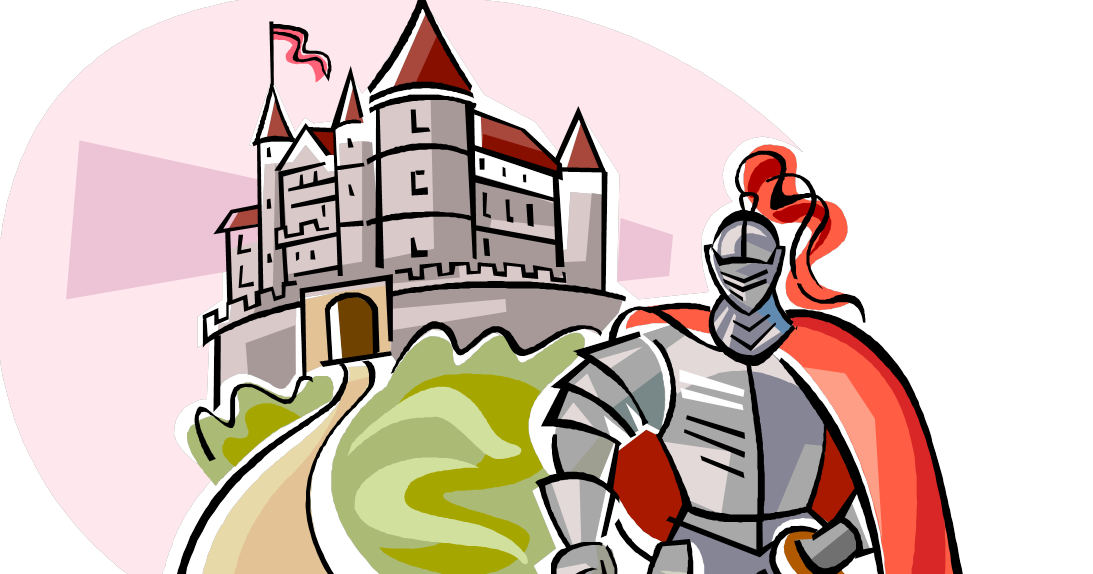 Knights clipart medieval war. Abcreads the knight life