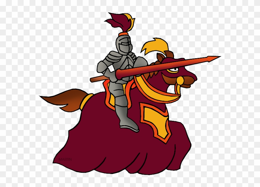 Knights clipart knight jousting. History joust middle ages