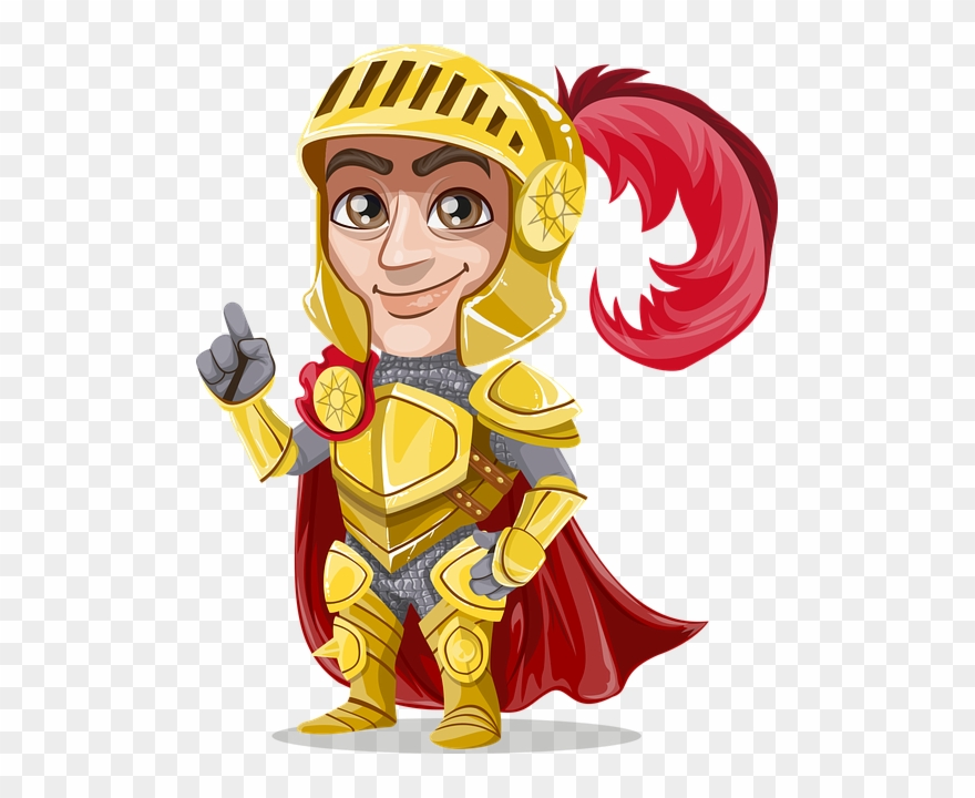 Knight gold golden metal. Knights clipart medieval lord