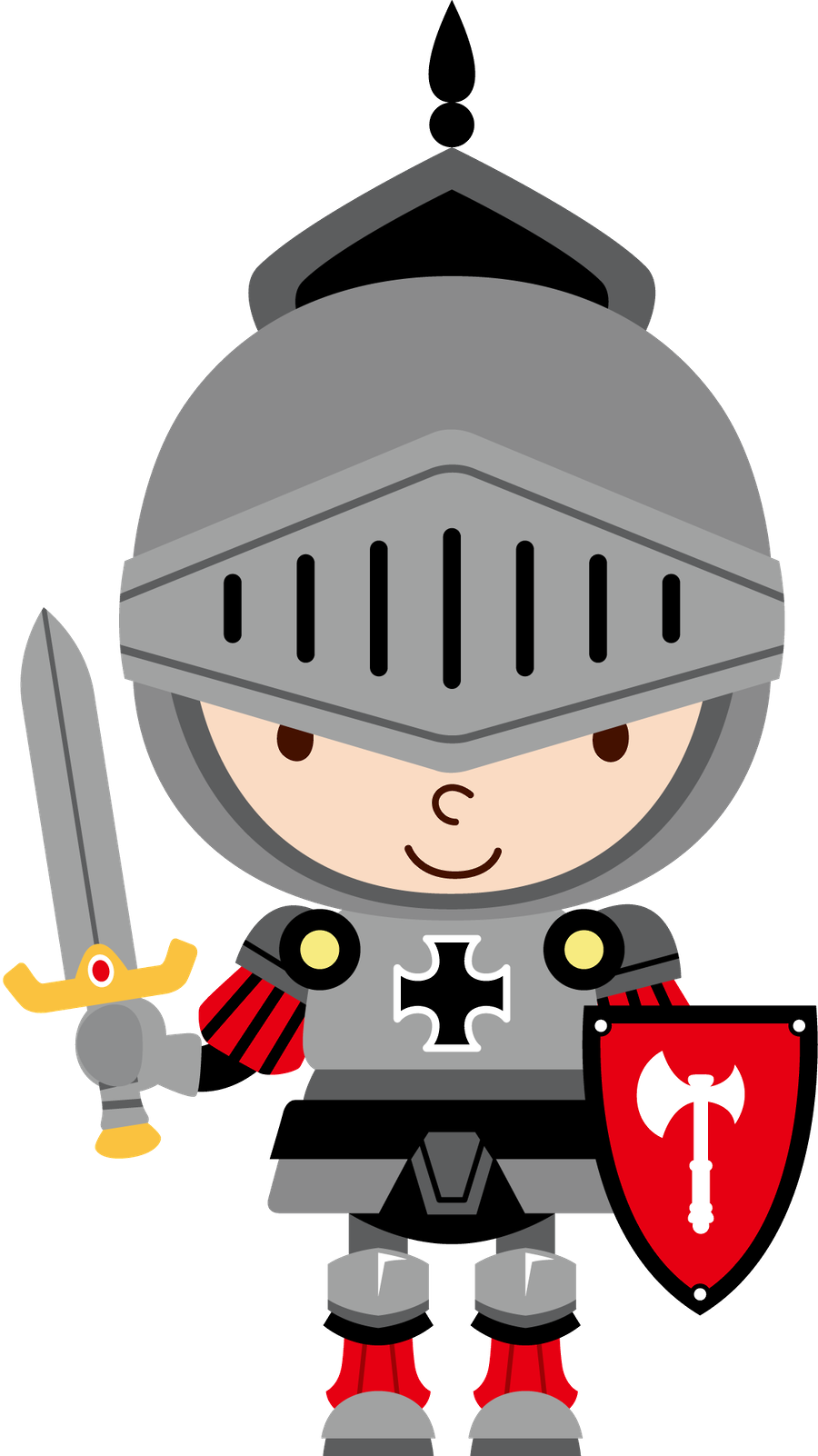 knight clipart medieval time