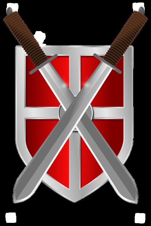 Knight clipart medieval war. Wallpaper download shield swords