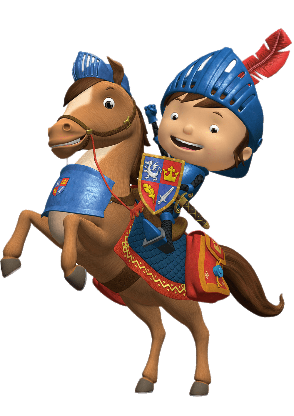 Knight clipart mike the knight. Transparent png stickpng