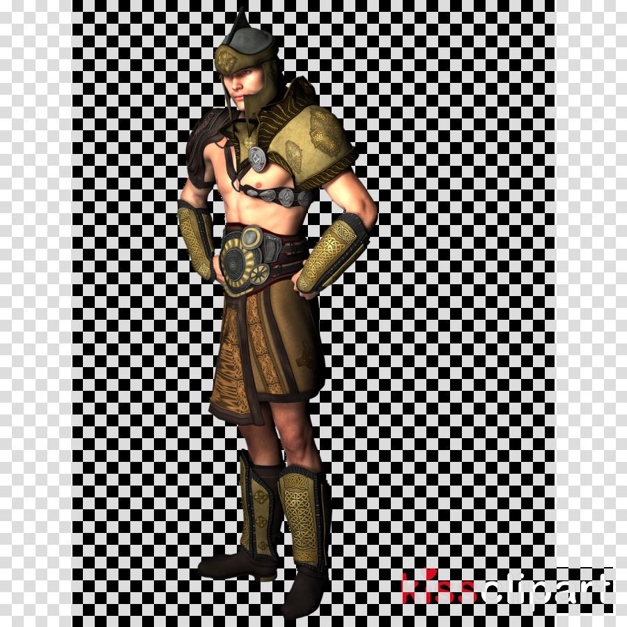 Cartoon warrior soldier . Knight clipart military