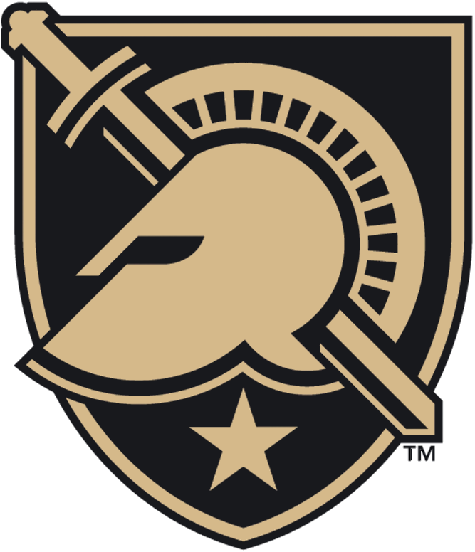Knight clipart military. Army west point black