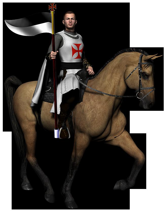 Knights mounted knight