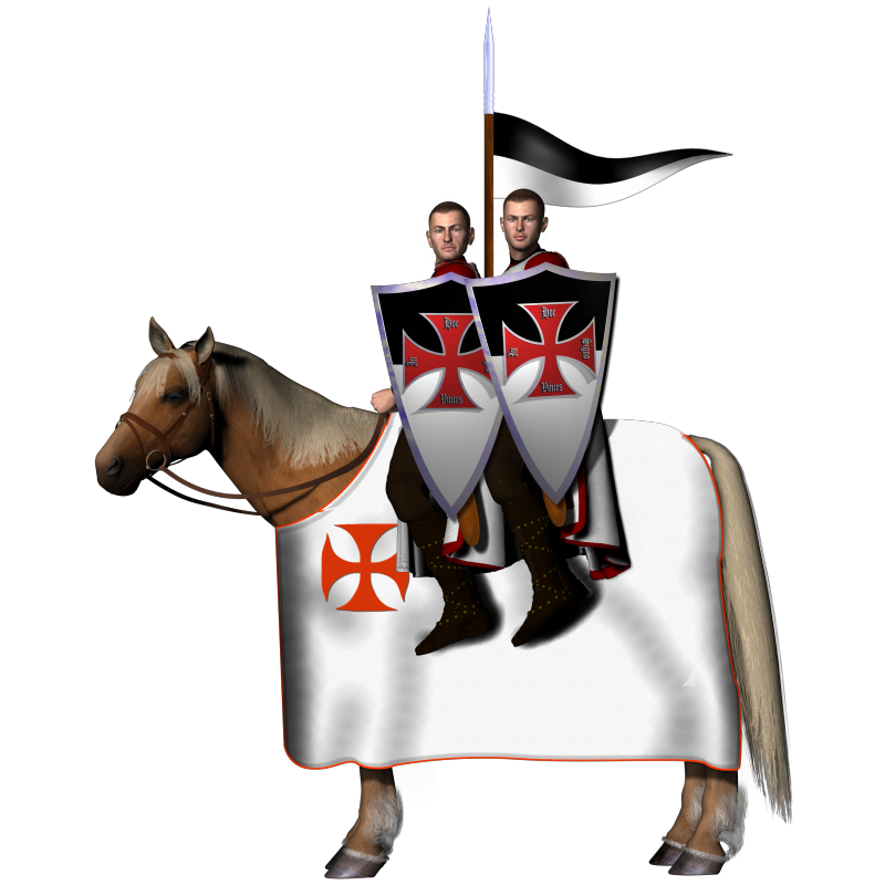 Templar graphics lodge st. Knights clipart two knights