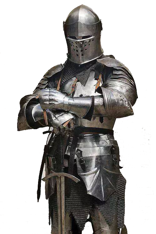 Self styled nobility for. Knights clipart standing