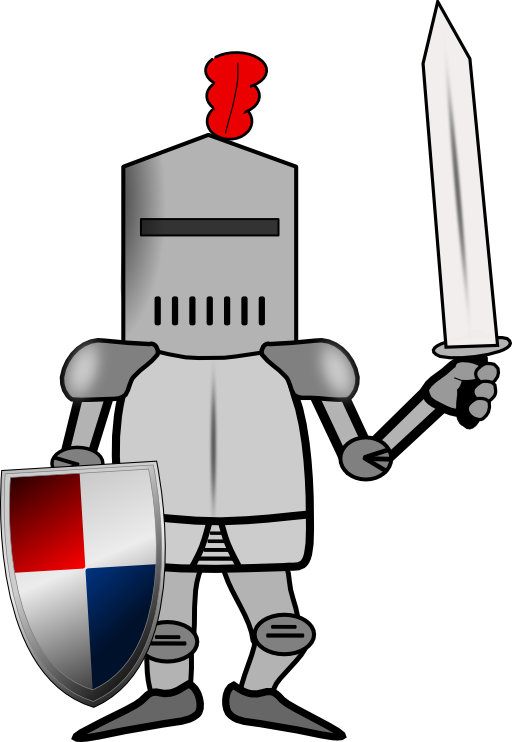 knight clipart public domain