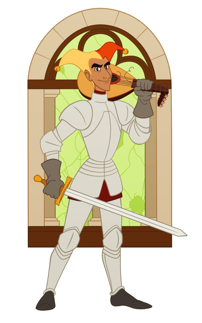 Knight clipart renaissance. Comedy by wickfield on