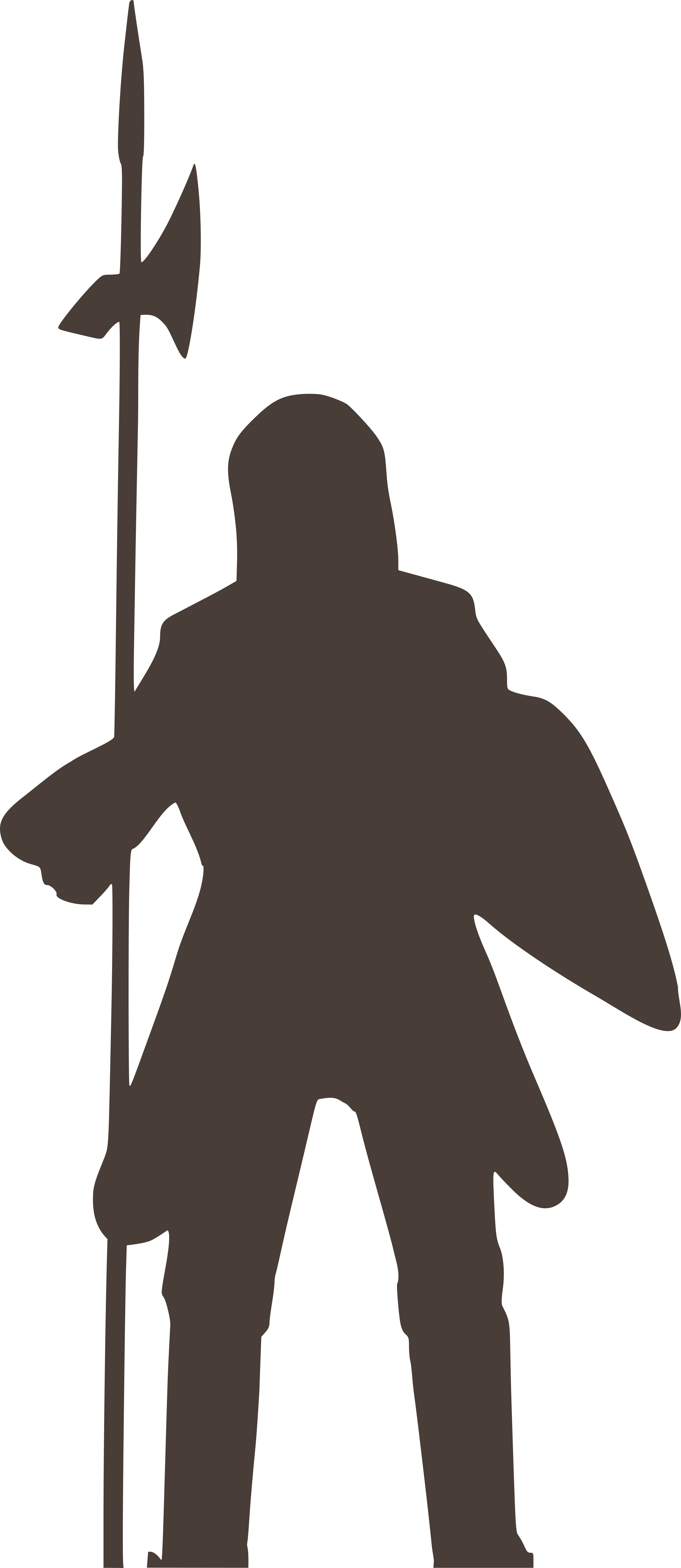 Chevalier knight big image. Knights clipart silhouette