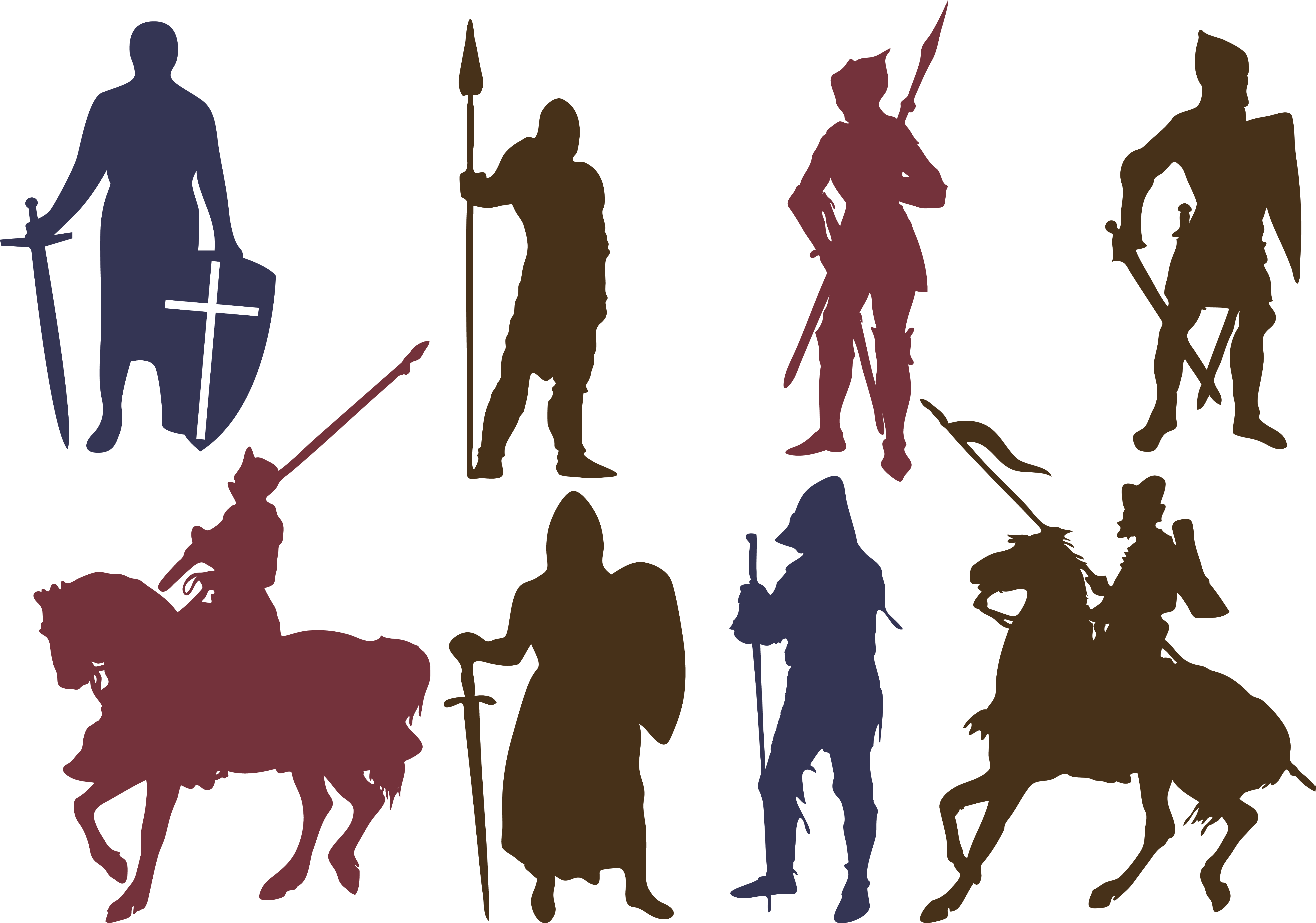 At getdrawings com free. Knights clipart silhouette