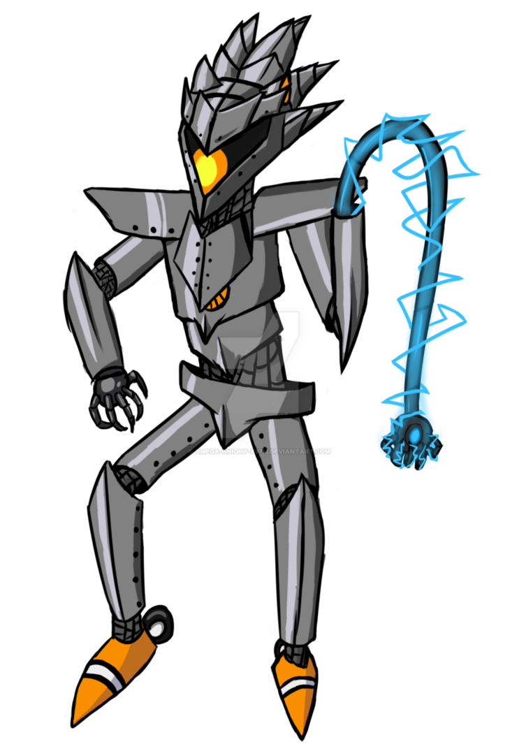 Redraw by omega x. Knight clipart silver knight