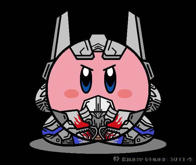 Kirbyformers optimus prime aoe. Knight clipart silver knight