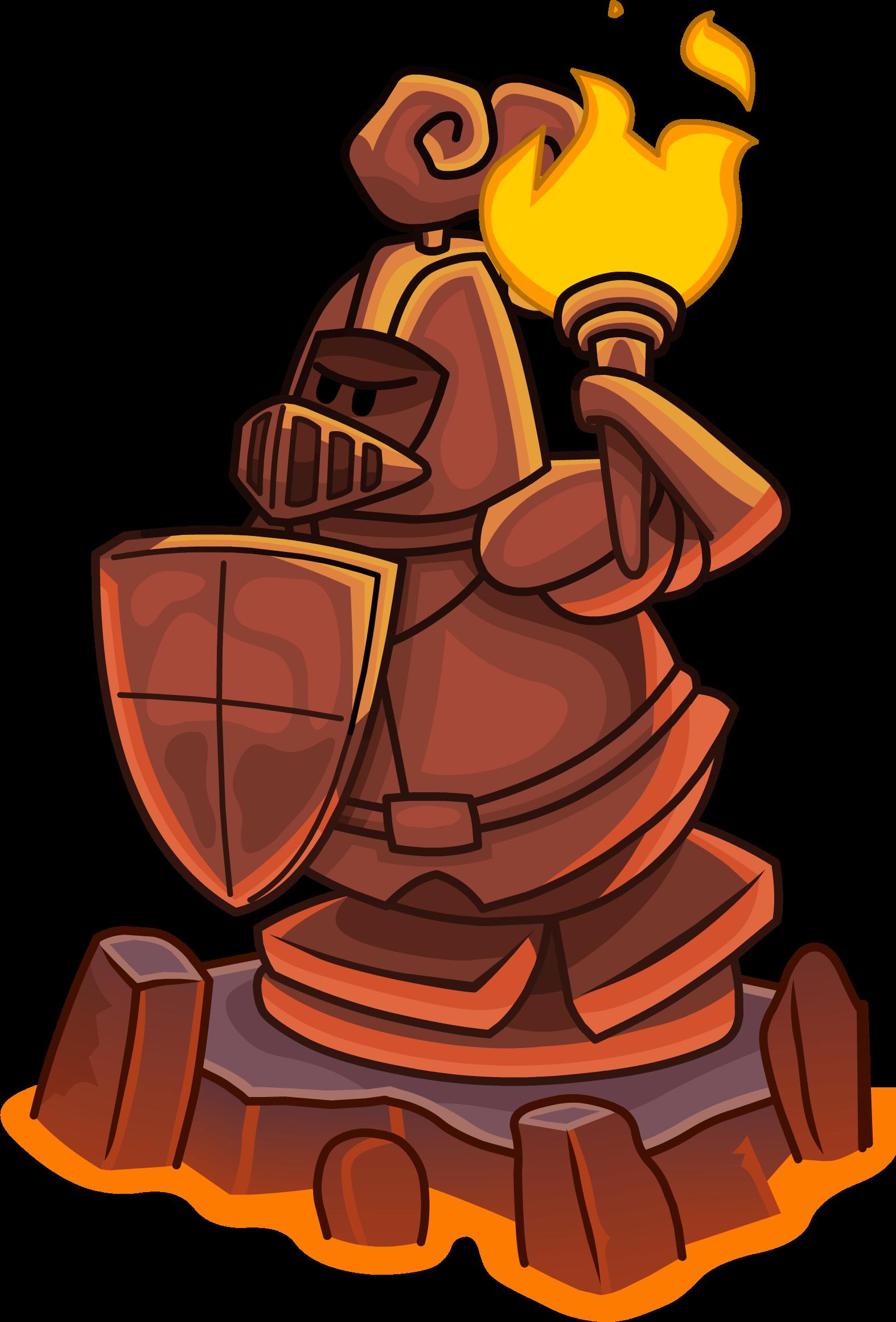 Knight clipart silver knight. Image s quest statue