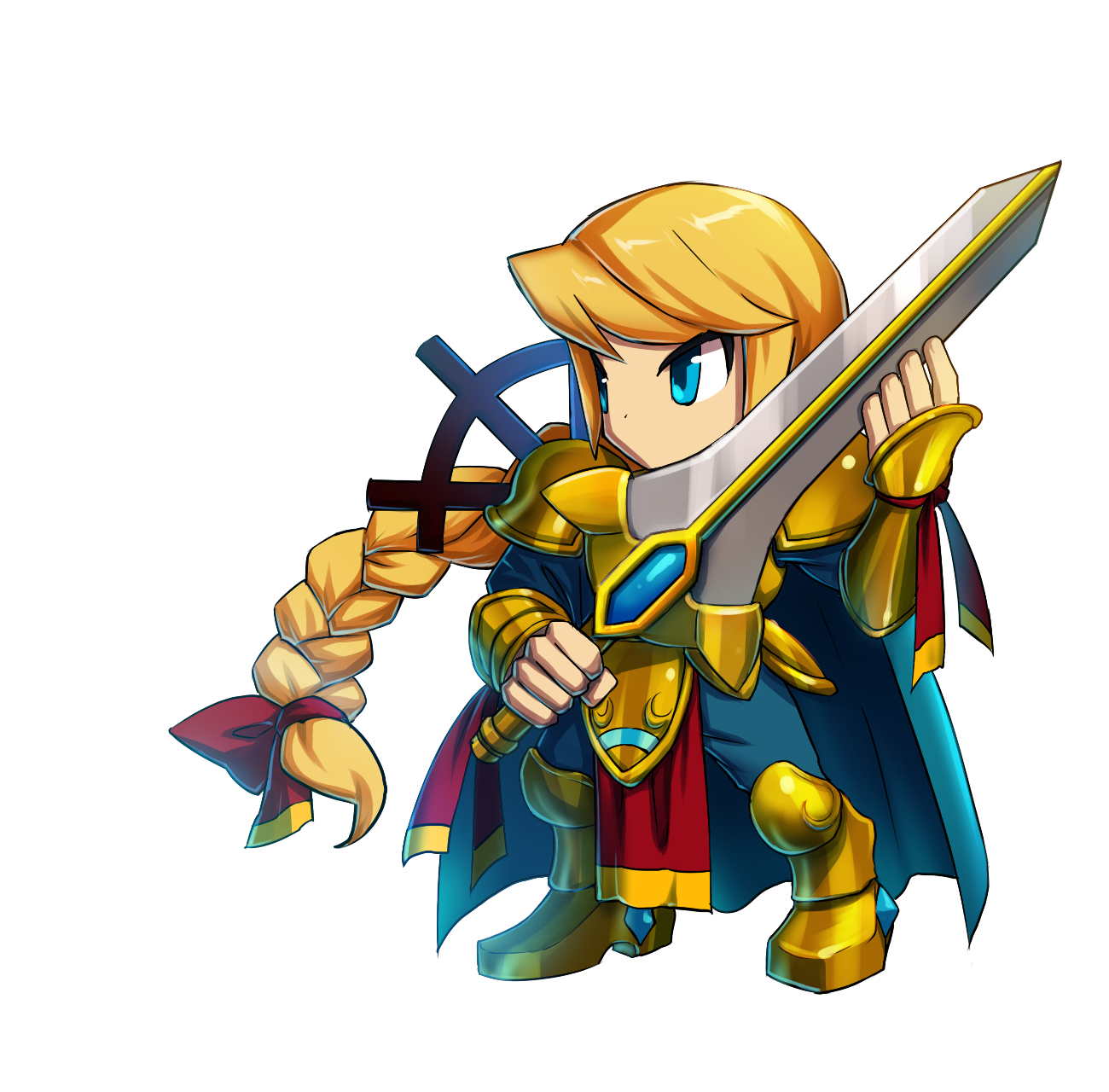 Knight clipart squire. Atro brave frontier rpg