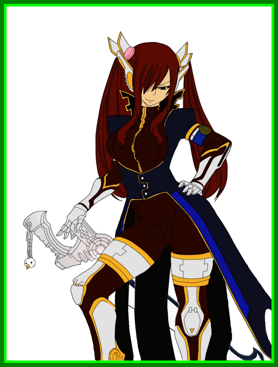 Knight clipart suit armor. The best erza scarlet