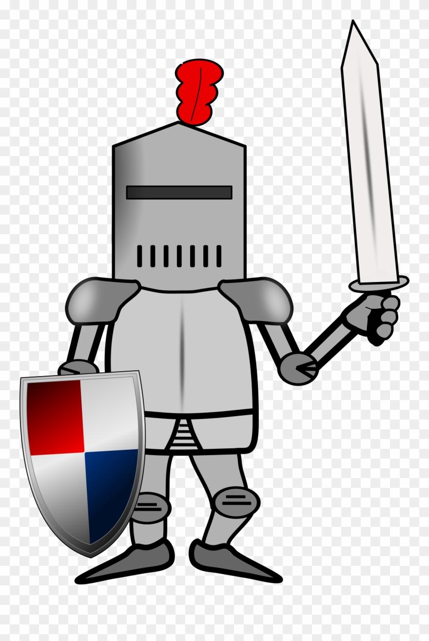 Big image cartoon pinclipart. Knight clipart suit armor